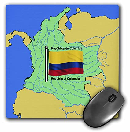 Amazon.com: 3dRose 777images Flags and Maps - South America ...