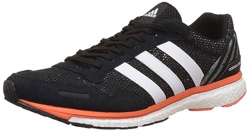 the latest 69758 c4ba4 adidas Adizero Adios M, Zapatos para Correr para Hombre, Negro  (Cblackftwwhteneora), 48 EU Amazon.es Zapatos y complementos