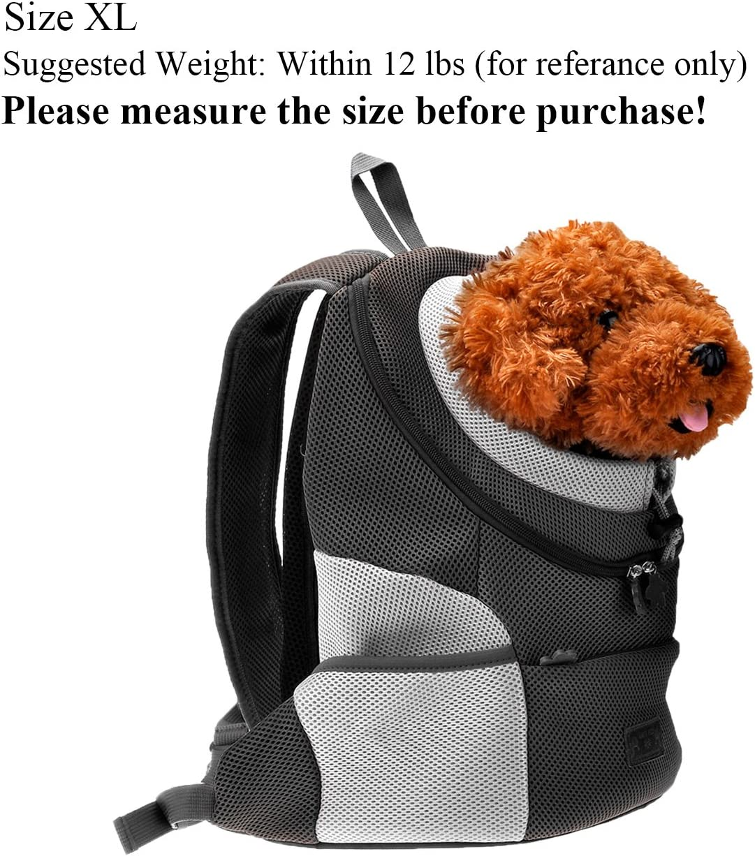 CozyCabin Latest Style Comfortable Dog Cat Pet Carrier Backpack Travel Carrier Bag Front for Small Dogs Carrier Bike Hiking Outdoor