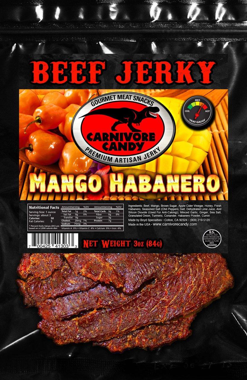 Amazon.com: Carnivore Candy Beef Jerky Three Pack (Three ...