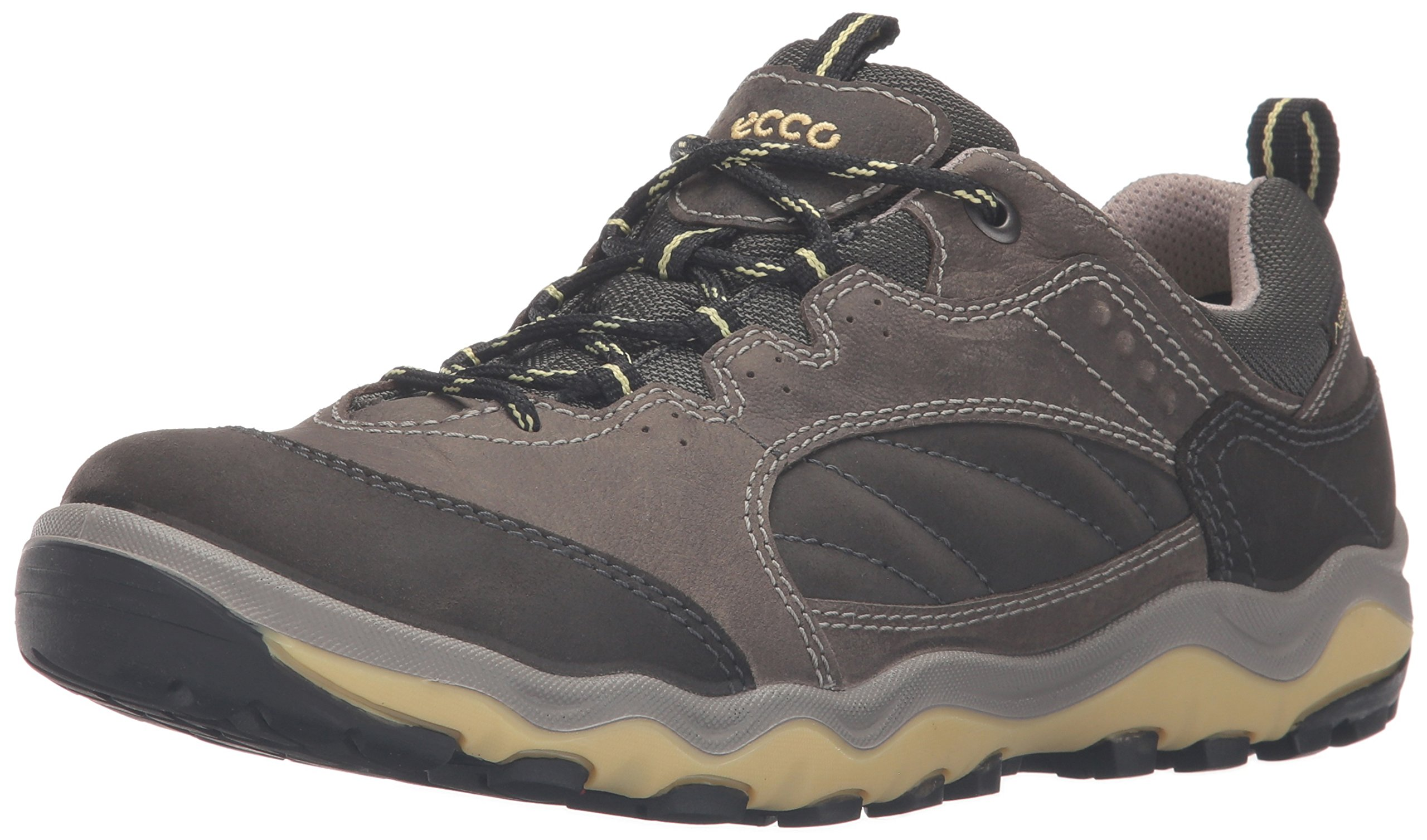 ECCO Women's Ulterra Lo GTX Hiking, Dark Shadow/Popcorn, 40 EU/9-9.5 M US