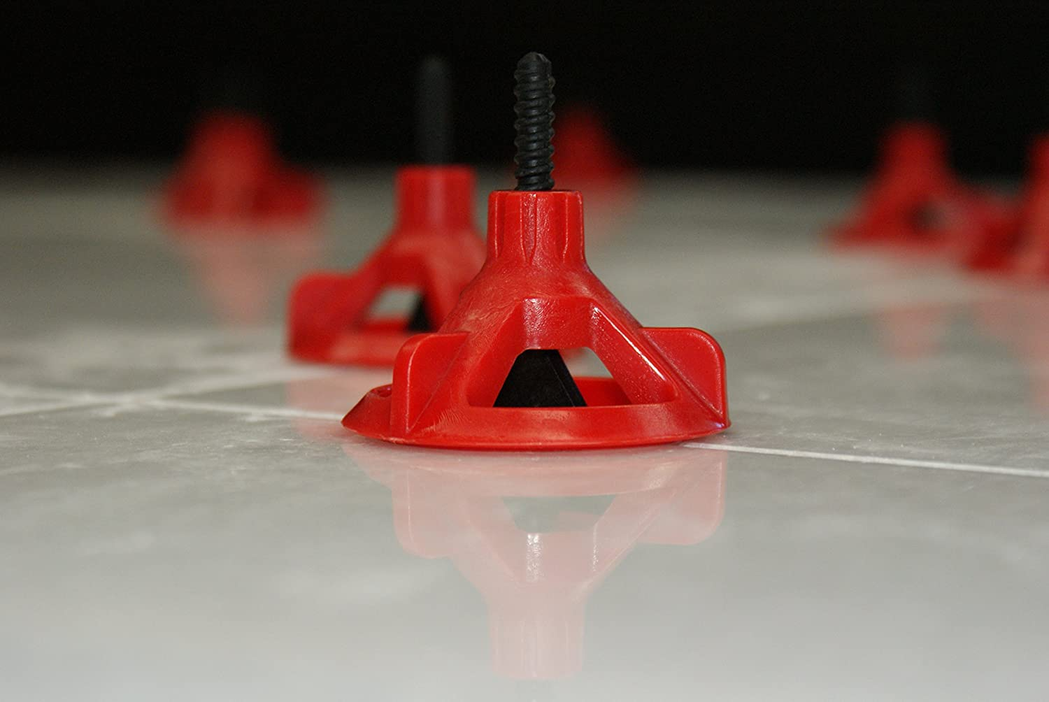 RTC Spin Doctor Tile Leveling System Caps 100Pc SDCAP