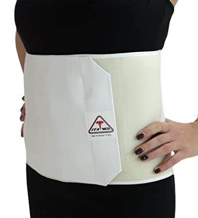ITA MED Unisex Breathable Elastic Postsurgical Recovery Abdominal And Back Support Wrap Binder 9