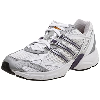 purchase cheap 280c2 35fe1 adidas Womens Uraha Running Shoe,WhiteSilverPurple,6.5 M