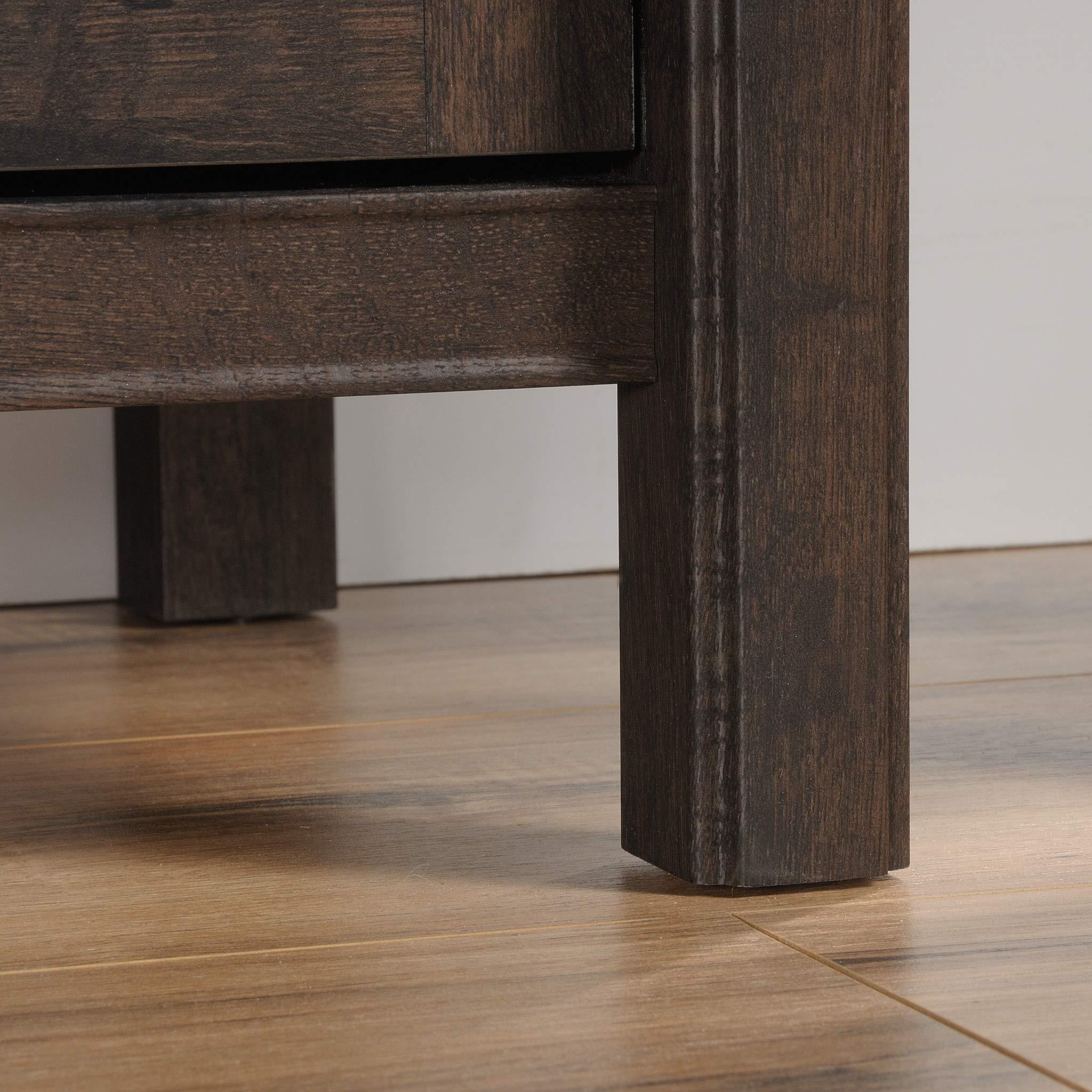 Sauder 422981 Costa Library Base, L: 31.30'' x W: 14.41'' x H: 30.00'', Coffee Oak Finish by Sauder (Image #6)