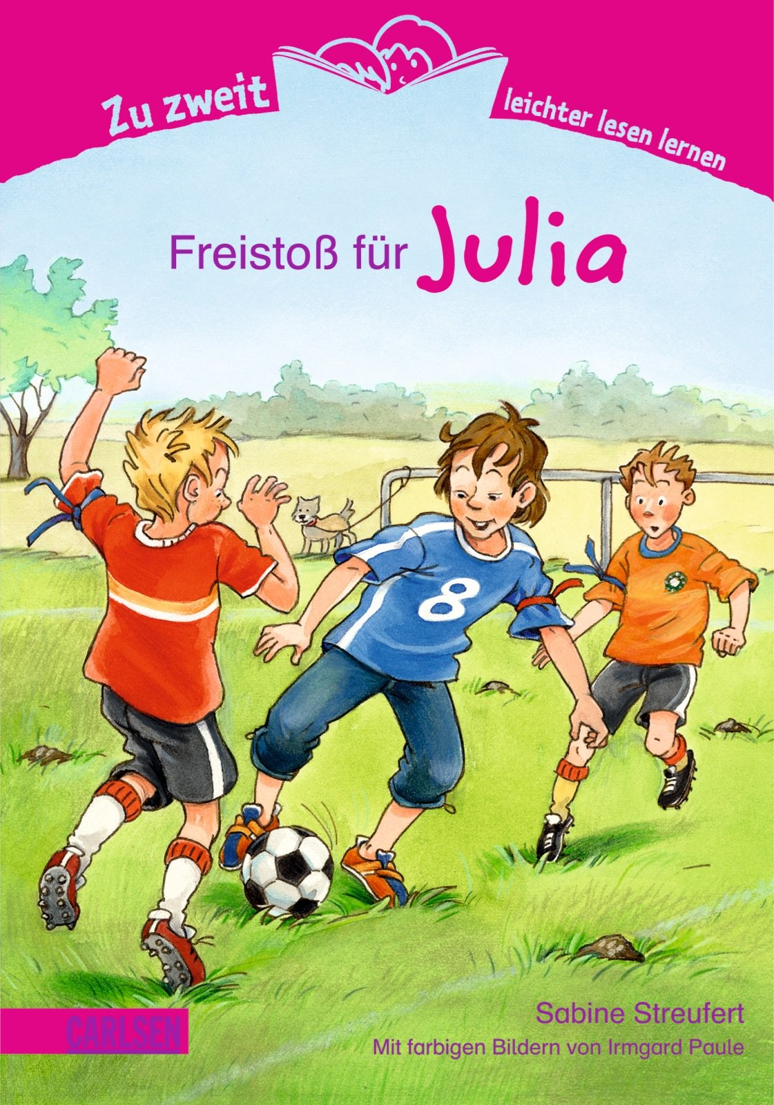 Zu zweit leichter lesen lernen, Band 6: Freistoß für Julia