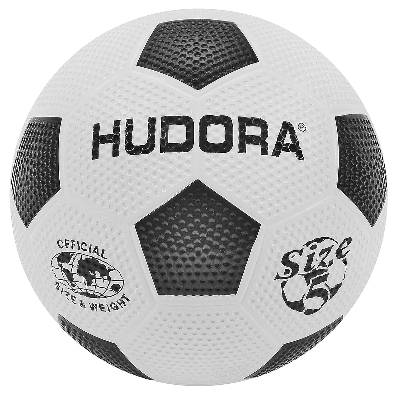 HUDORA Fußball Street, aus Gummi, Größe 5 5 5 (5, Bälle  Pumpe) B07PTT7QHR Pumpen Moderate Kosten 351f00