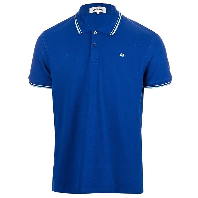 Ben Sherman - Polo - Básico - para Hombre Azul 150 Royal Blue XXX ...
