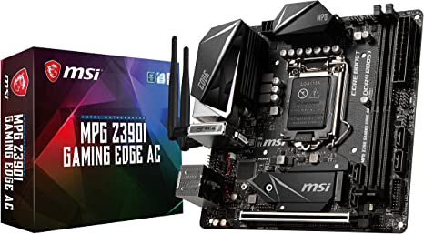 Amazon.com: MSI MPG Z390I Gaming Edge AC LGA1151 (Intel 8th ...