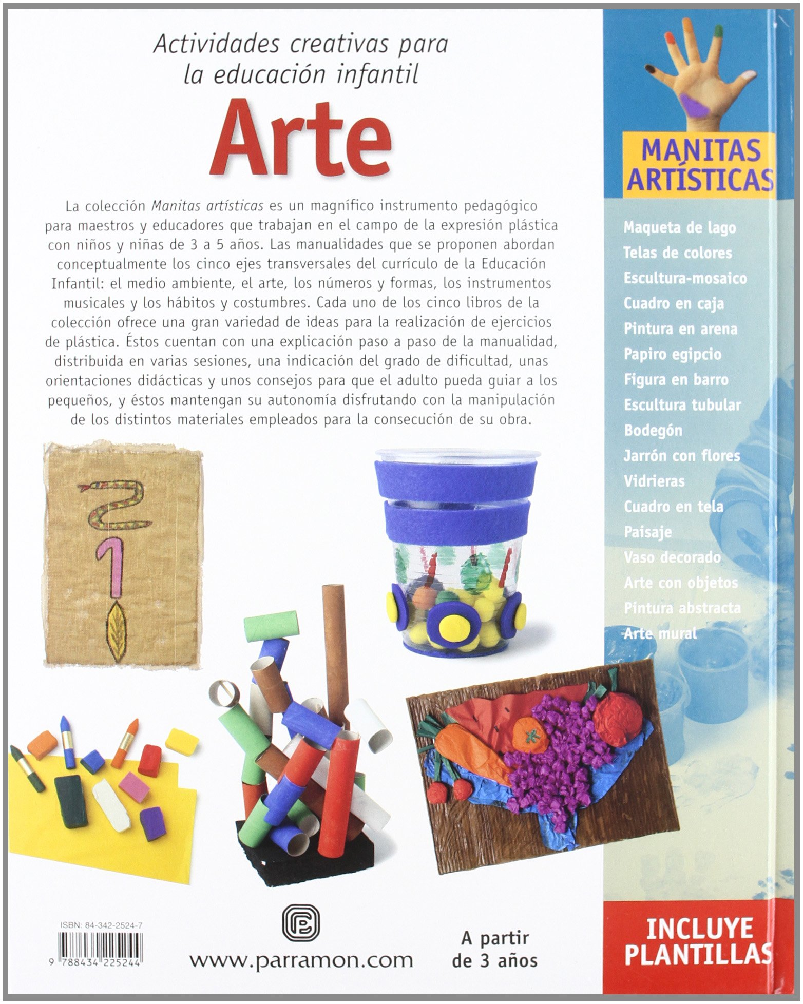 Arte (Spanish Edition): Parramon: 9788434225244: Amazon.com ...