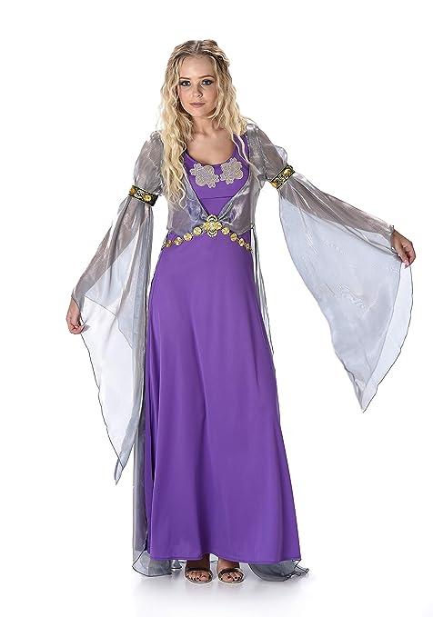 Disfraz de princesa medieval mujer