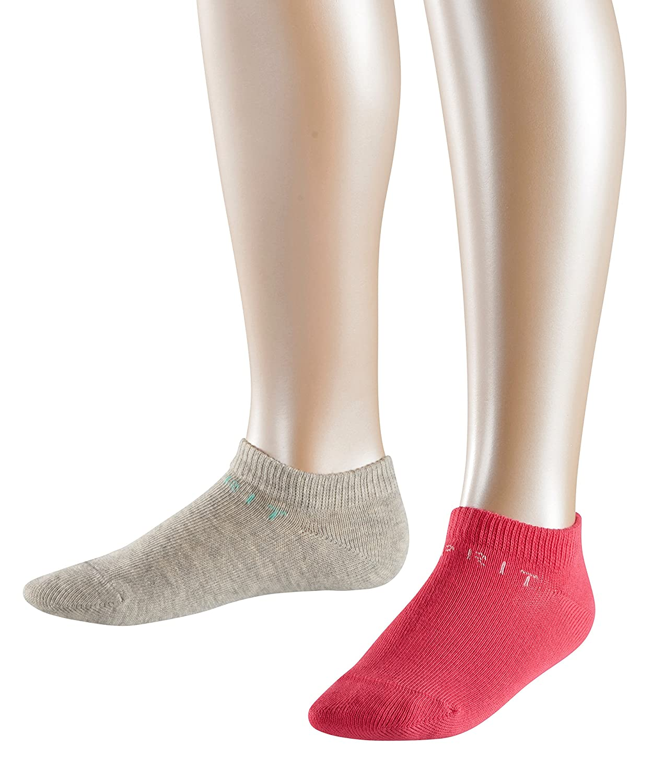 Esprit Foot Logo, Socquettes Fille (lot de 2)