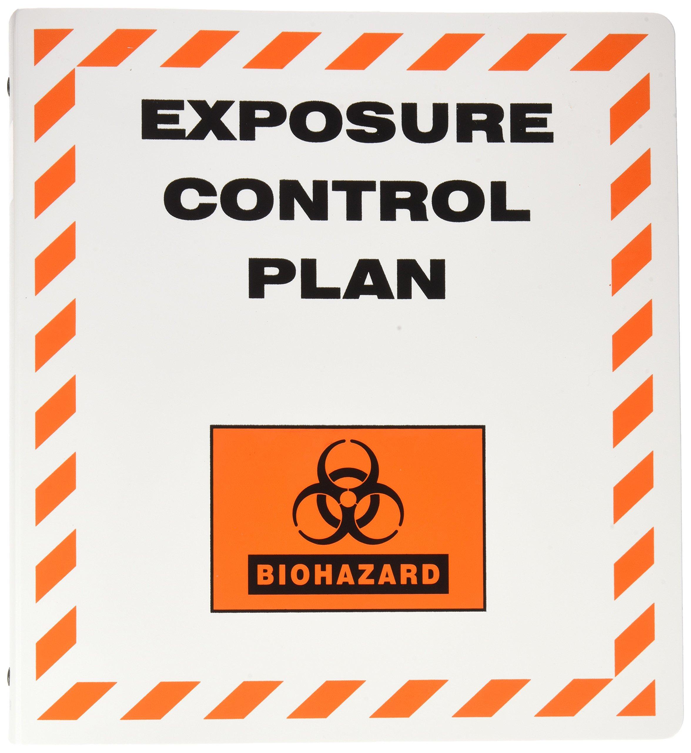 Brady BH2023 Binder, Exposure Control Plan, Polyethylene