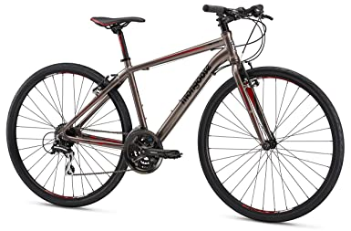 Mongoose Artery Comp Gravel Road Bike with Aluminum Frame and 700c Wheels, 15-Inch Small Frame, Silver