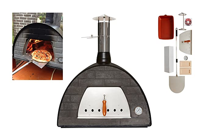Wood-Fired Bread, Meat, Pizza Fish Outdoor Oven REAL WOOD REAL ...