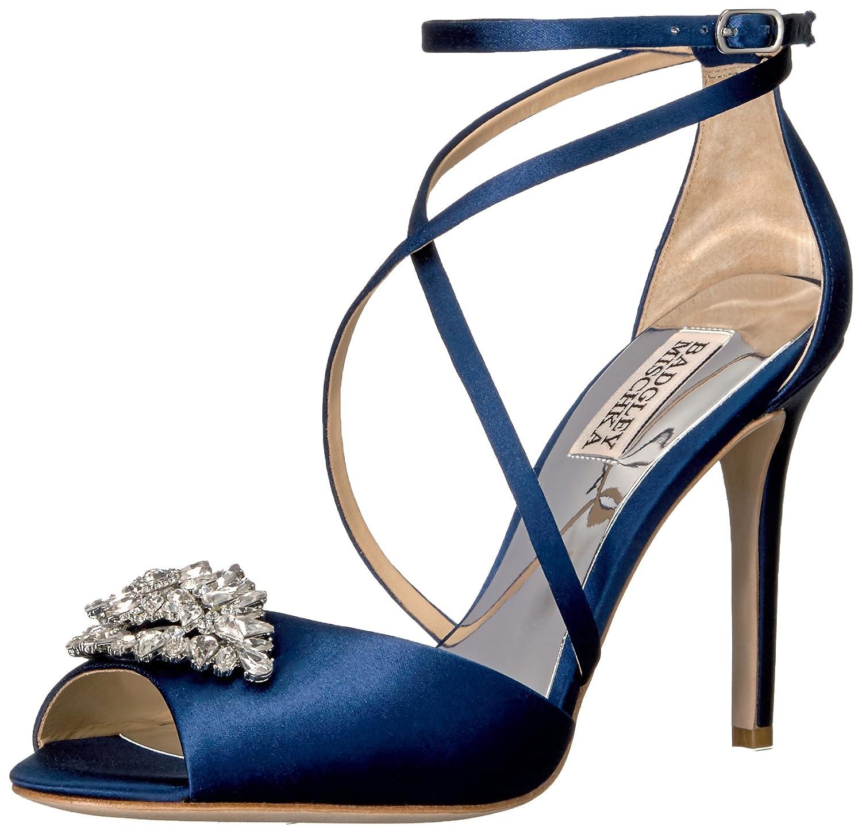 Navy Badgley Mischka Womens Tatum Dress Sandal