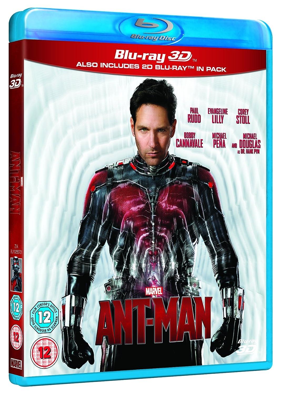 Ant-Man 3D BD [Italia] [Blu-ray]: Amazon.es: Paul Rudd, Michael ...