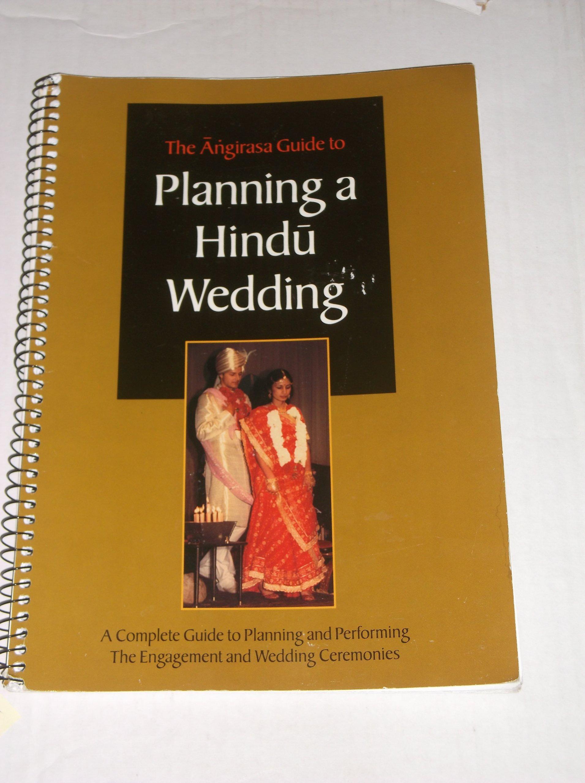 The Hindu Wedding Planner (English and Hindi Edition): Angirasa Muni