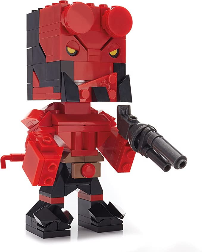 HELLBOY FIGURE MINI Blocks PLAY WITH LEGOS USA SELLER NEW IN PACKAGE
