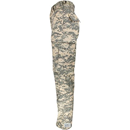 ... 4ec36 17d10 Army Universe Mens ACU Digital Camouflage PolyCotton  Military BDU Army Fatigues Cargo Pants with ... dd378843373