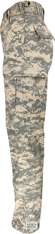 Amazon.com  Mens ACU Digital Camo Poly Cotton Military BDU Army Fatigues  Cargo Pants with Pin  Clothing 2821a820e77