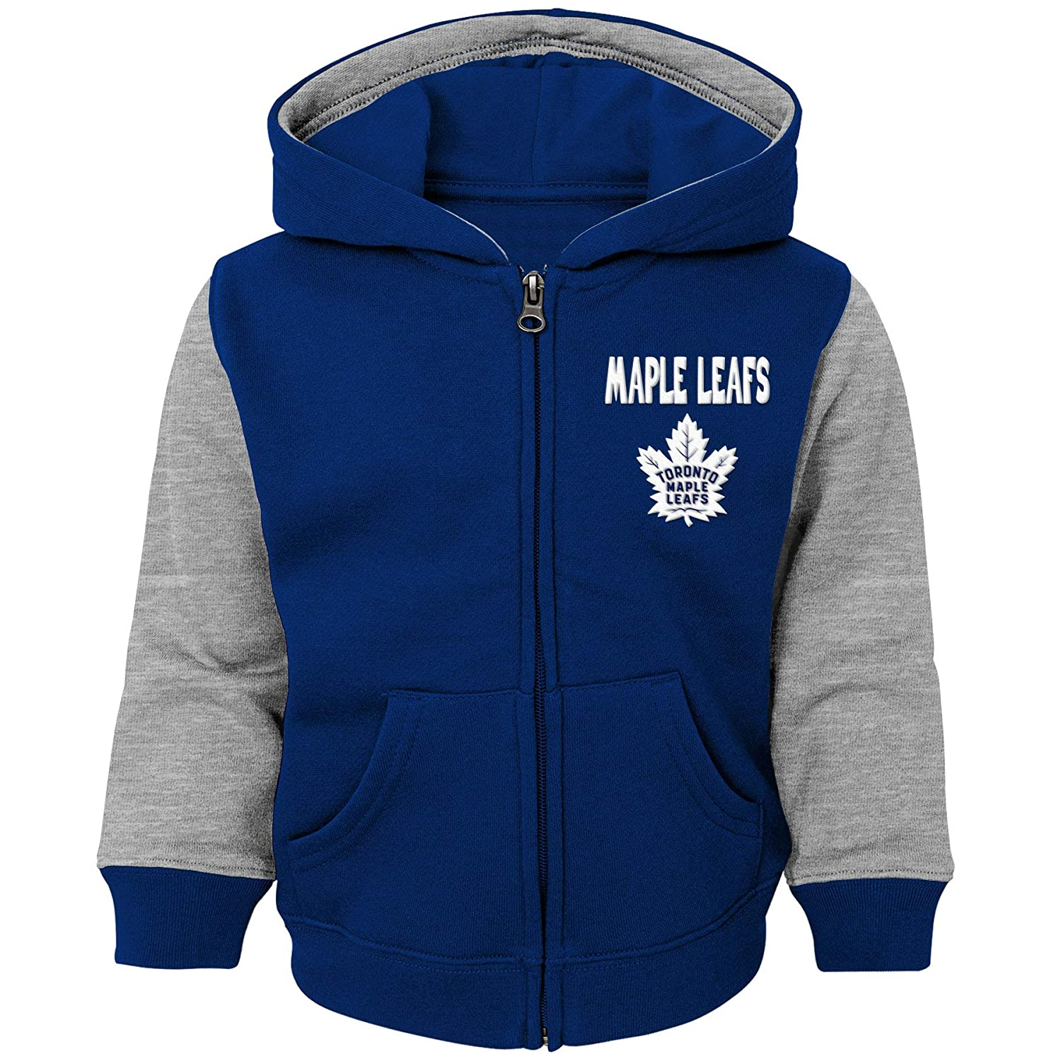 Toronto Maple Leafs Toddler Stadium Full-Zip Fleece Hoodie