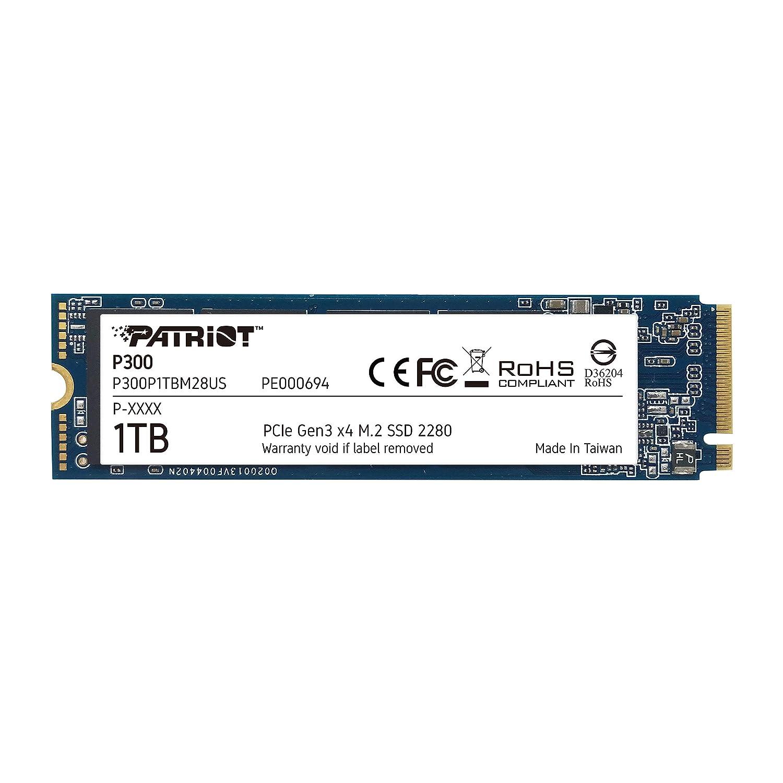 Patriot P300 M.2 PCIe Gen 3 x4 1TB SSD de bajo Consumo: Amazon.es ...