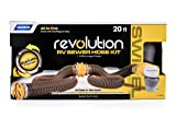 Camco 20' Sewer Hose Kit 39625 Revolution Swivel Rv