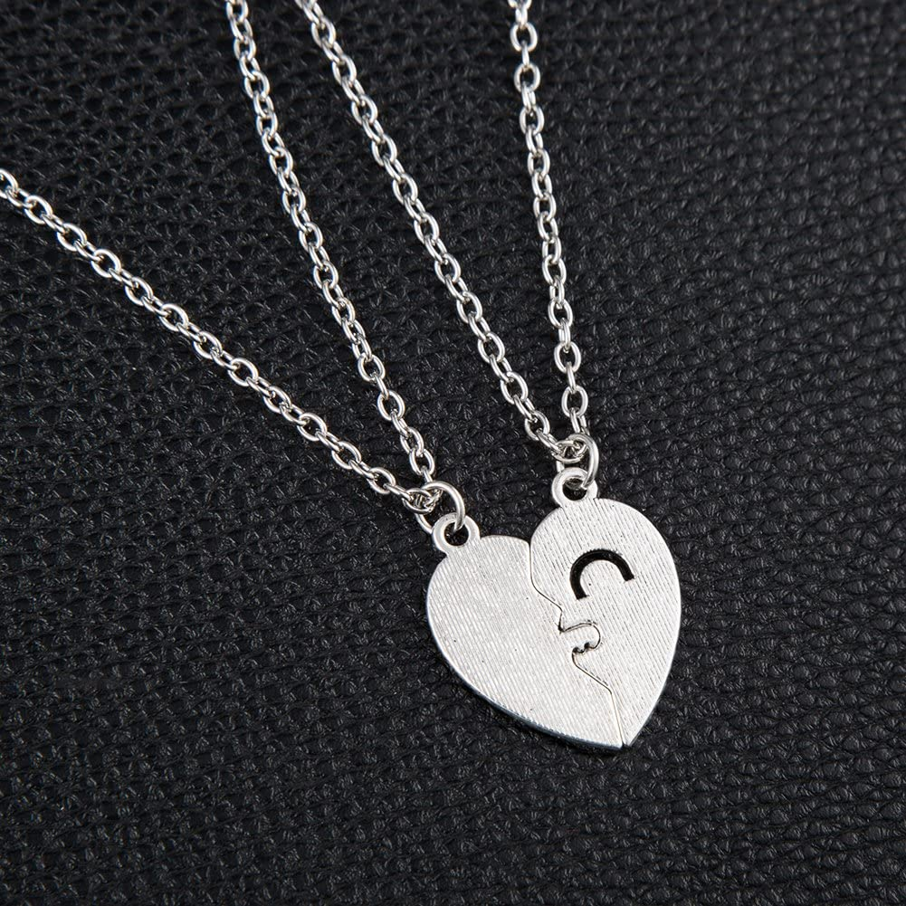 Gilroy Heart Paw Pendant Necklace Couple Jewelry Gifts