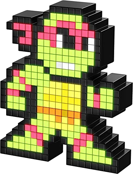 Amazon.com: PDP Pixel Pals Teenage Mutant Ninja Turtles ...