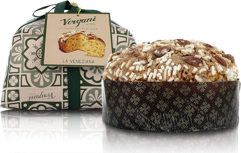 Classic Veneziana Cake, Glazed, Hand-Wrapped, Italian Traditional Recipe - 720g / 1lb 9.4oz
