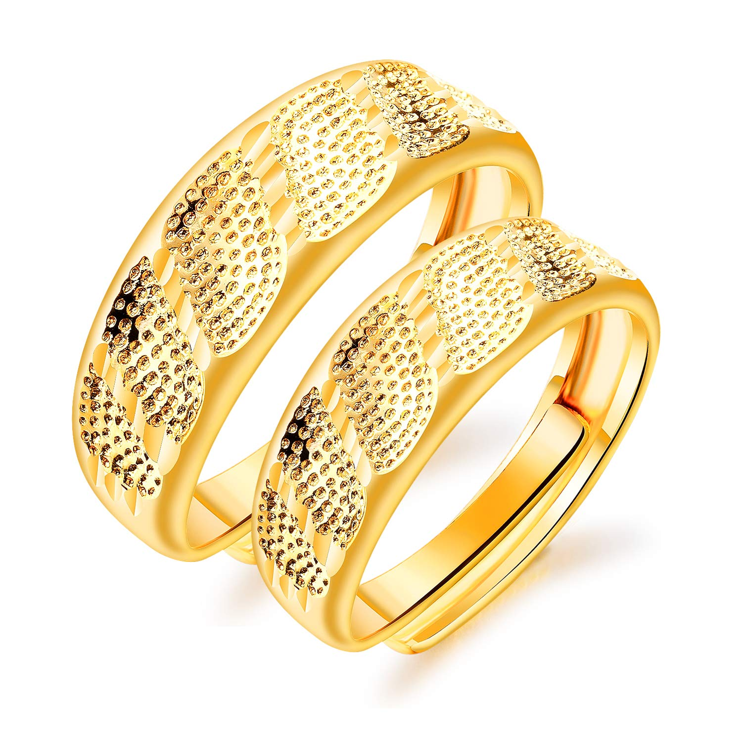 Gold Latest Wedding Ring Designs For Couple Mypic Asia