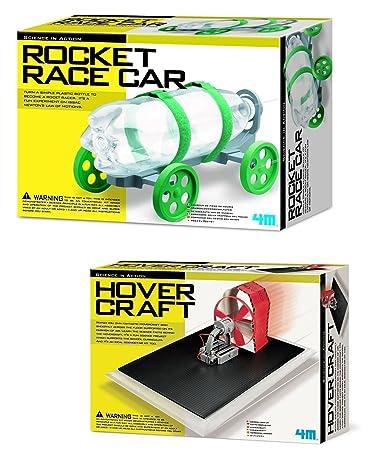 Amazon.com: 13.1 foot Rocket coche de carreras y ...