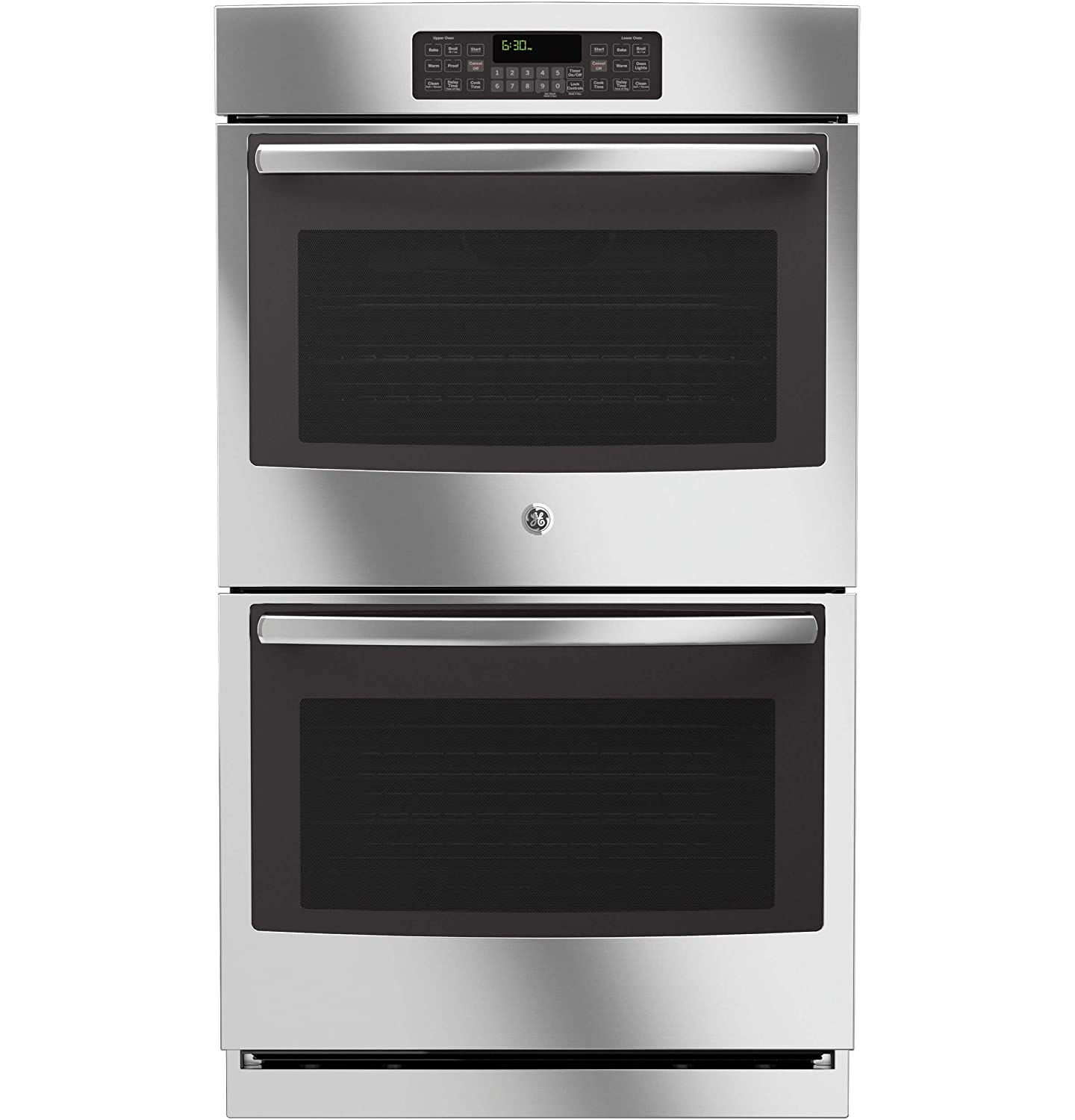 GE JT3500SFSS 30' Stainless Steel Electric Double Wall Oven