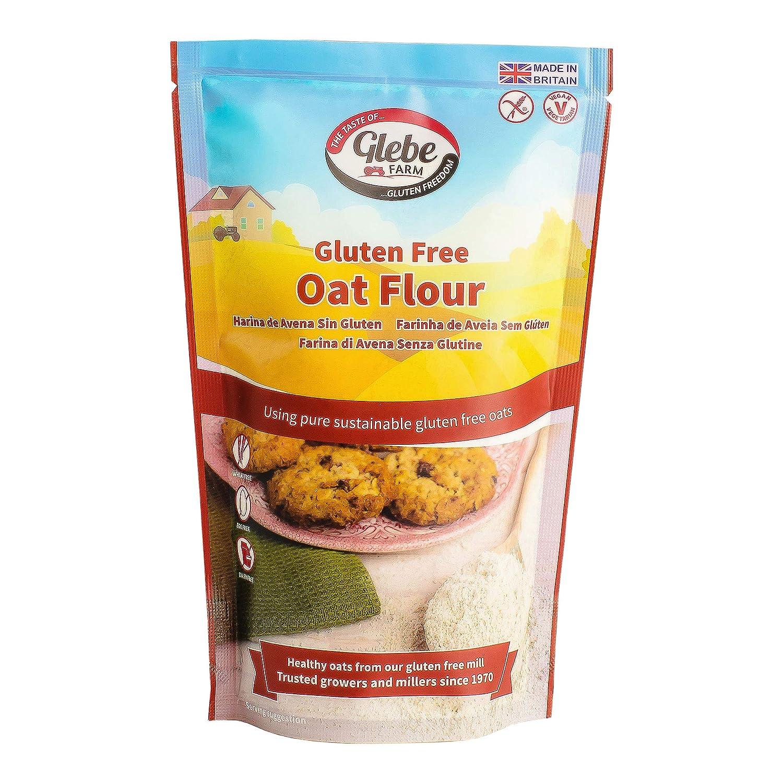 Glebe Farm | Oat Flour - Wheat/Gluten Free | 3 x 300g ...