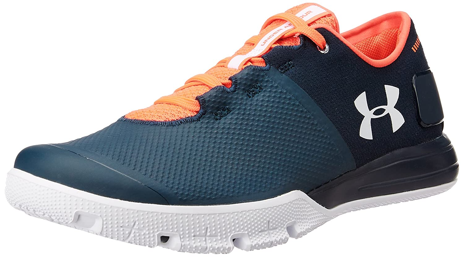 Under Armour Men's UA Charged Ultimate TR 2.0 Blue Drift, Phoenix Fire and  White Multisport Training Shoes - 9 UK/India (44 EU): Buy Online at Low  Prices in ...