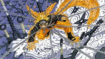 Amazon.com: Anime family 062 Naruto - Sasuke NINJA Fighting ...