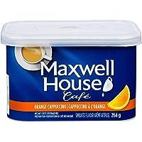 Maxwell House Café Orange Cappuccino Instant Coffee, 264g