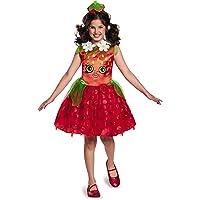 Disguise Shopkins Fresa Classic Costume, Un Solo Color, Mediano/7-8