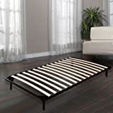 Homdox Living Bed Frames / Wooden Slats Support / Mattress Foundation / Platform Bed Frame / Box Spring Replacements (Twin Size)