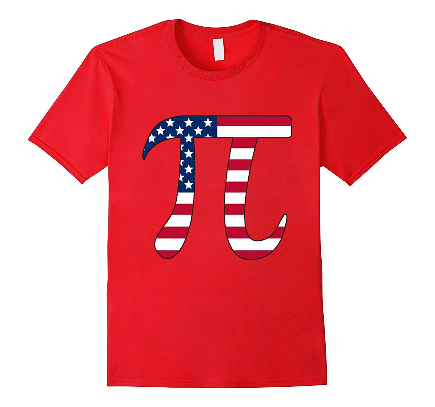 American PI Day 2017 T-Shirt For Math Geeks-TD