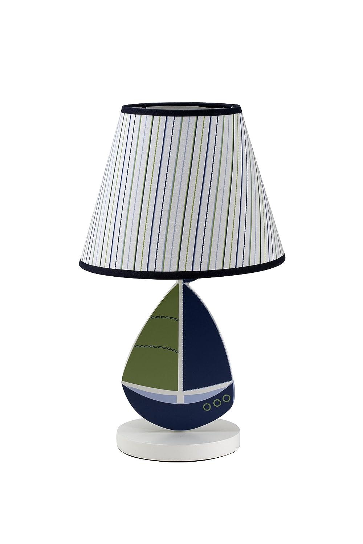 Amazon.com : Nautica Zachary Lamp and Shade : Nursery Lamps : Baby