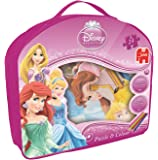 Disney Princess Double-Sided Puzzle and Colour Jigsaw Puzzle (24 Pieces)