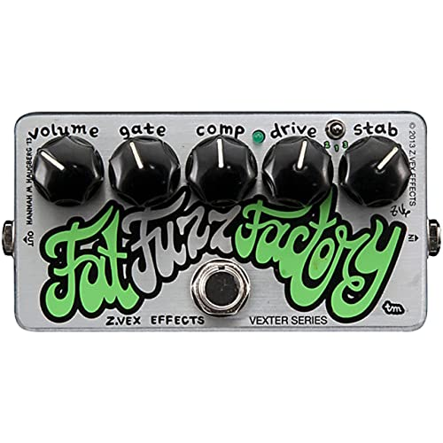 ZVEX Effects Fat Fuzz Factory Germanium Fuzz Guitar/Bass Pedal