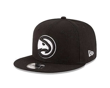 buy popular c1834 937d0 Image Unavailable. Image not available for. Color  New Era NBA Atlanta  Hawks Men s 9Fifty Snapback Cap ...