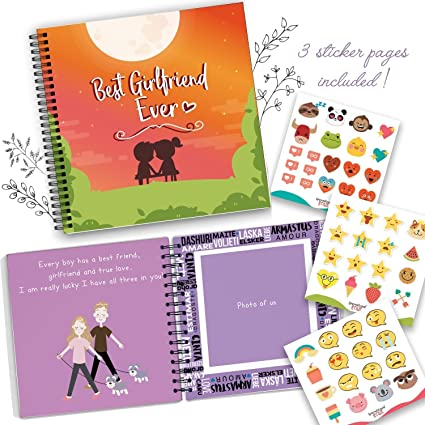 Amazon.com: Best Girlfriend Ever Memory Book - The Best Romantic ...
