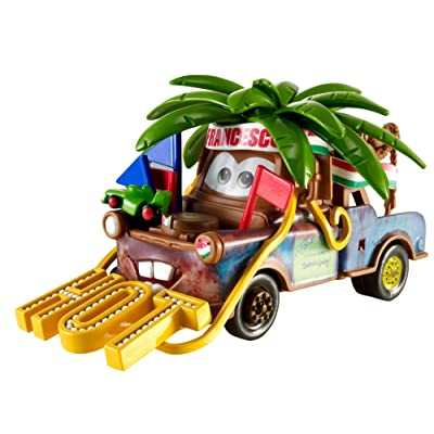 Disney Pixar Cars Chase Deluxe Francesco Fan Mater: Toys & Games