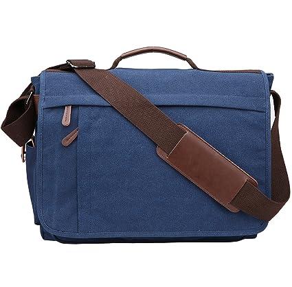Messenger Bag Shoulder Bags Men Shoulder Bag Laptop Bag 14-17 Inch  Crossbody Bag Canvas 3a04a5fc6