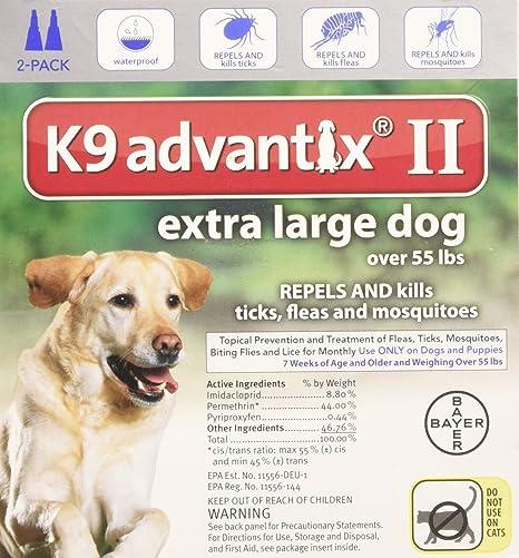 Amazon Bayer K9 Advantix Ii Flea And Tick Control Treatment