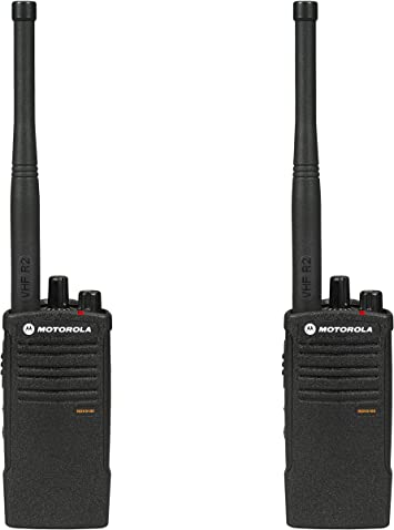 4-Pack On-Site Motorola RDV5100 5-Watt Professional Two Way Radio